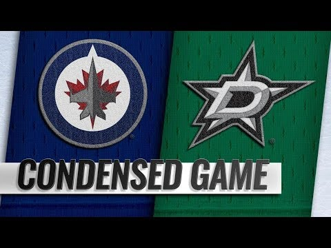 Winnipeg Jets vs Dallas Stars – Oct.06, 2018 | Game Highlights | NHL 18/19 | Обзор матча