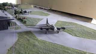 1/144 scale B-17 Engine Test