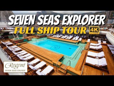 Regent Seven Seas Explorer | Full Ship Walkthrough Tour & Review | 4K | All Public Spaces