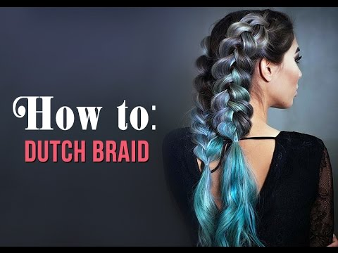 How to dutch braid with clip in hair extensions youtube how to dutch braid with clip in hair extensions pmusecretfo Image collections