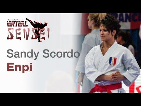 Sandy Scordo - Kata Enpi - 21st WKF World Karate Championships Paris Bercy 2012