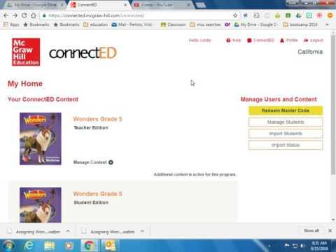 Assigning Wonders Online Unit Assessments