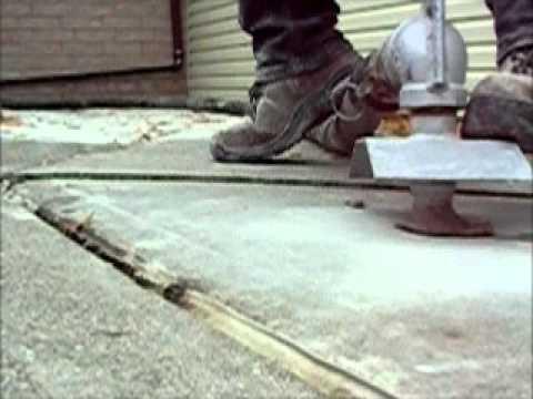 Concrete Raising Repair Sunken Concrete Sidewalks Patios