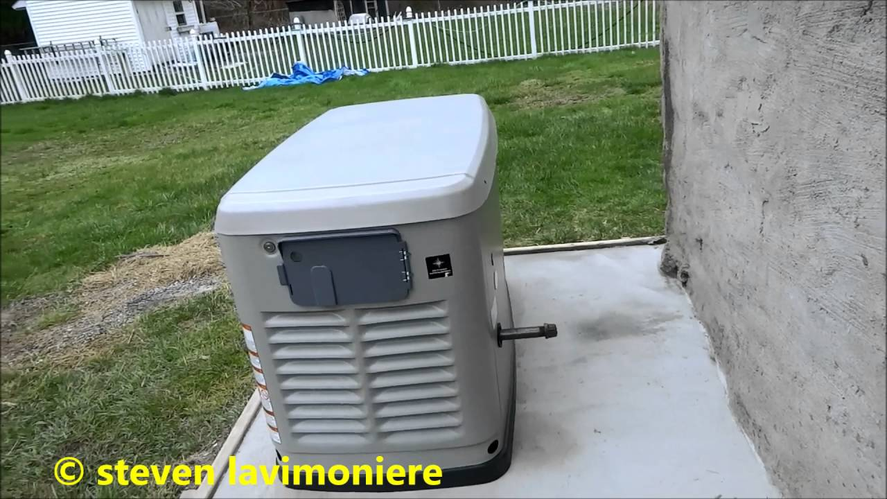 Nice Generac Whole House Generator Install Part 2 Of 6