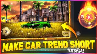 how to make free fire car short with sky change 🎯 || free fire trending shorts tutorial 🔥