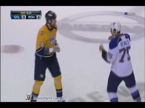 Best NHL Fights and Hits 2011-2012