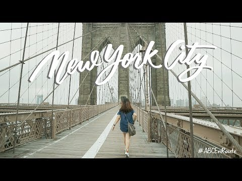 Two Weeks in New York 🇺🇸 (vlog + journal flip thru) | Abbey Sy