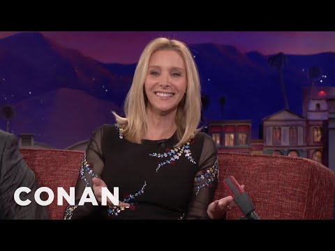 Lisa Kudrow Is ProVibrator   CONAN on TBS