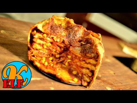 #176 Eine leckere Pizzatorte schnell und einfach selber machen | Rezept | Kanal-elf | Kochen-123