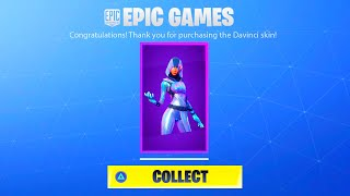 HOW TO GET NEW FORTNITE DAVINCI SKIN! NEW FORTNITE SAMSUNG GALAXY NOTE 10 EXCLUSIVE DAVINCI SKIN
