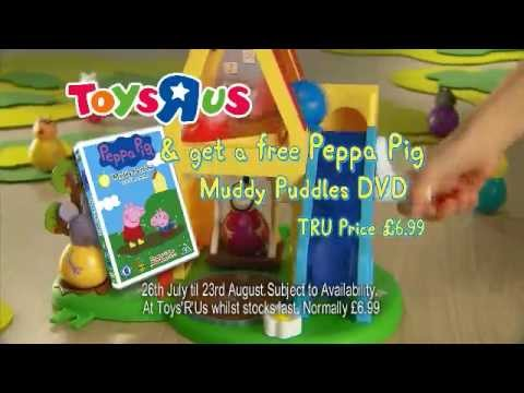 Peppa Pig Toys R Us DVD Promotion