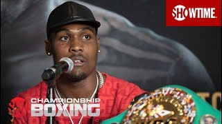 Charlo vs. Adams: Press Conference | SHOWTIME CHAMPIONSHIP BOXING