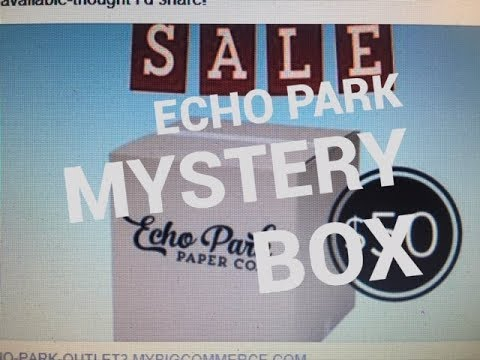 Echo Park Warehouse Box 2018 mystery