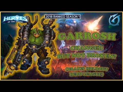 Grubby   Heroes of the Storm - Garrosh - Changed But Not Broken? - HL 2018 S1 - Braxis Holdout