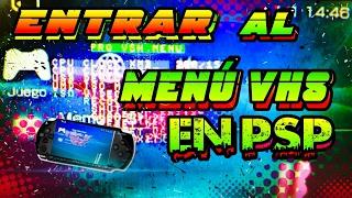Entrar al MODO VHS en PSP ( si no funciona ningún método) - almadgata