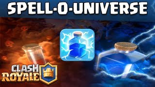 Clash Royale SPELL-O-UNIVERSE || Which is the Best Spell || Magical Archer UPDATED||