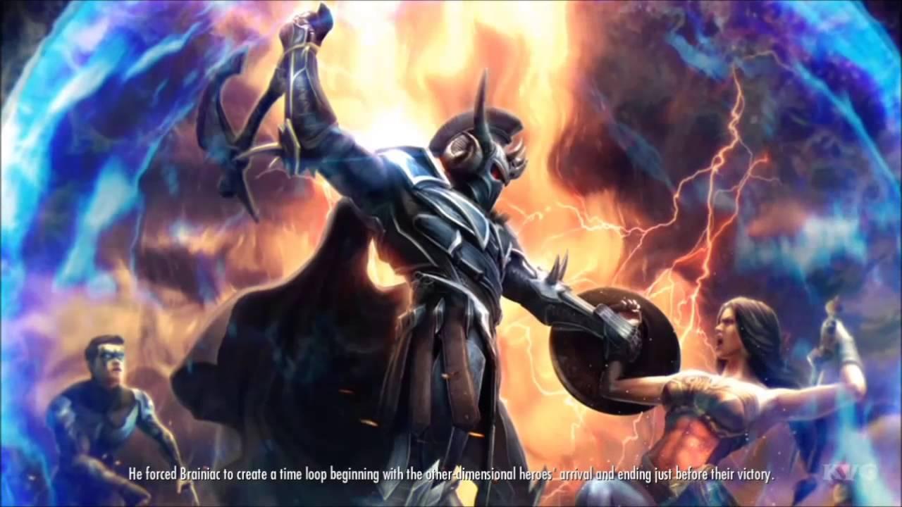 God Of War D Injustice Gods Among Us Ares Ending Hd Youtube