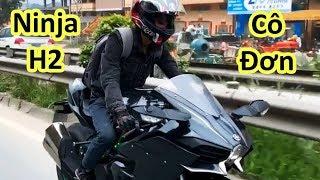 Thiếu Gia Đi Ninja H2 Và Cái Kết Không Thể Thốn Hơn | Minh Motor