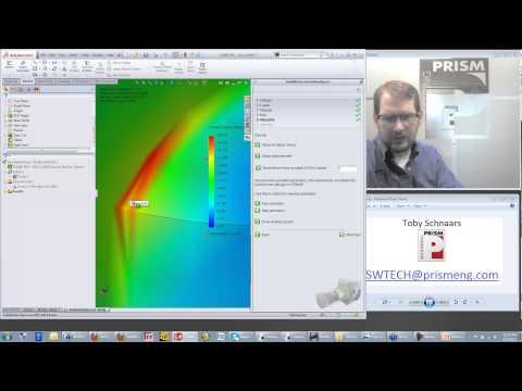 Toby's Tech Talk Episode 19 - June 5, 2013 - Simulation Xpress, My.Solidworks.com