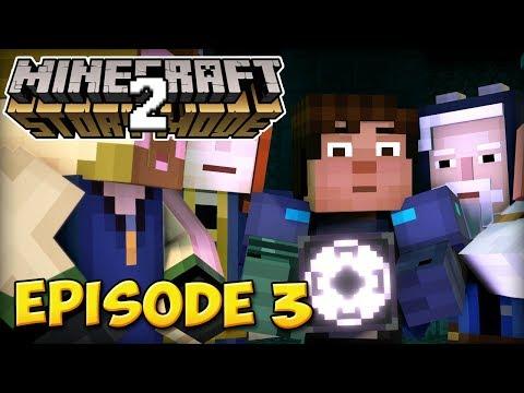 LE BLOC DE STRUCTURE | Minecraft Story Mode S2 #3