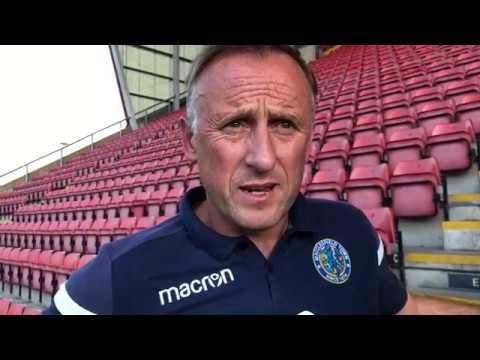Mark Yates Post Crewe - 1st September 2018