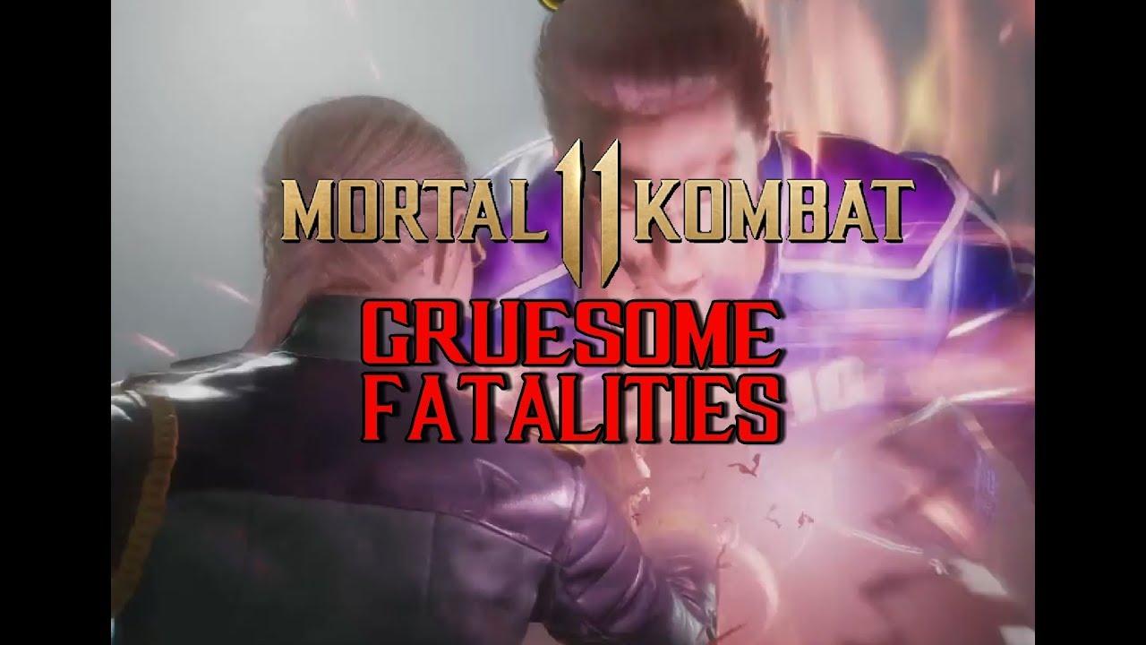 Mortal Kombat 11 - Gruesome Fatalities Compilation