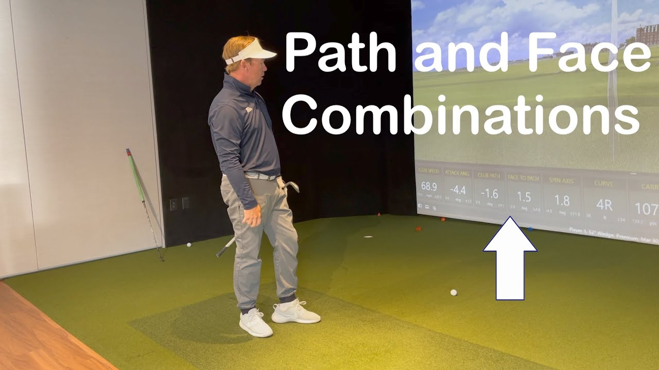 Club Path and Club Face Combinations Demonstrated