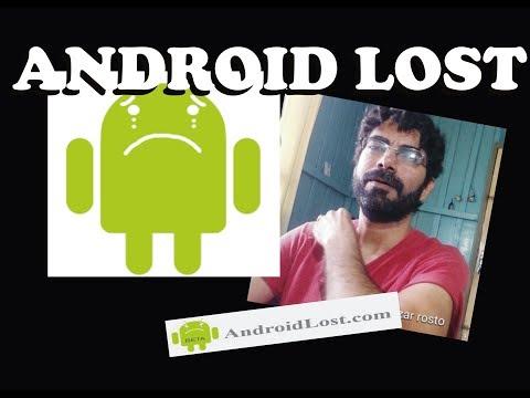 Android Lost - Ferramenta (app) Excelente Se Você Perder Seu Celular Tablet