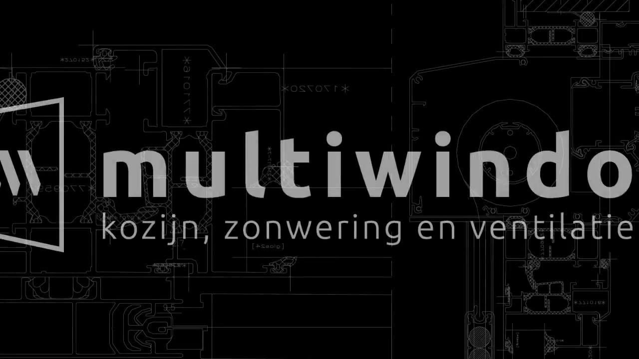 Multiwindow - kozijn, zonwering en ventilatie in 1