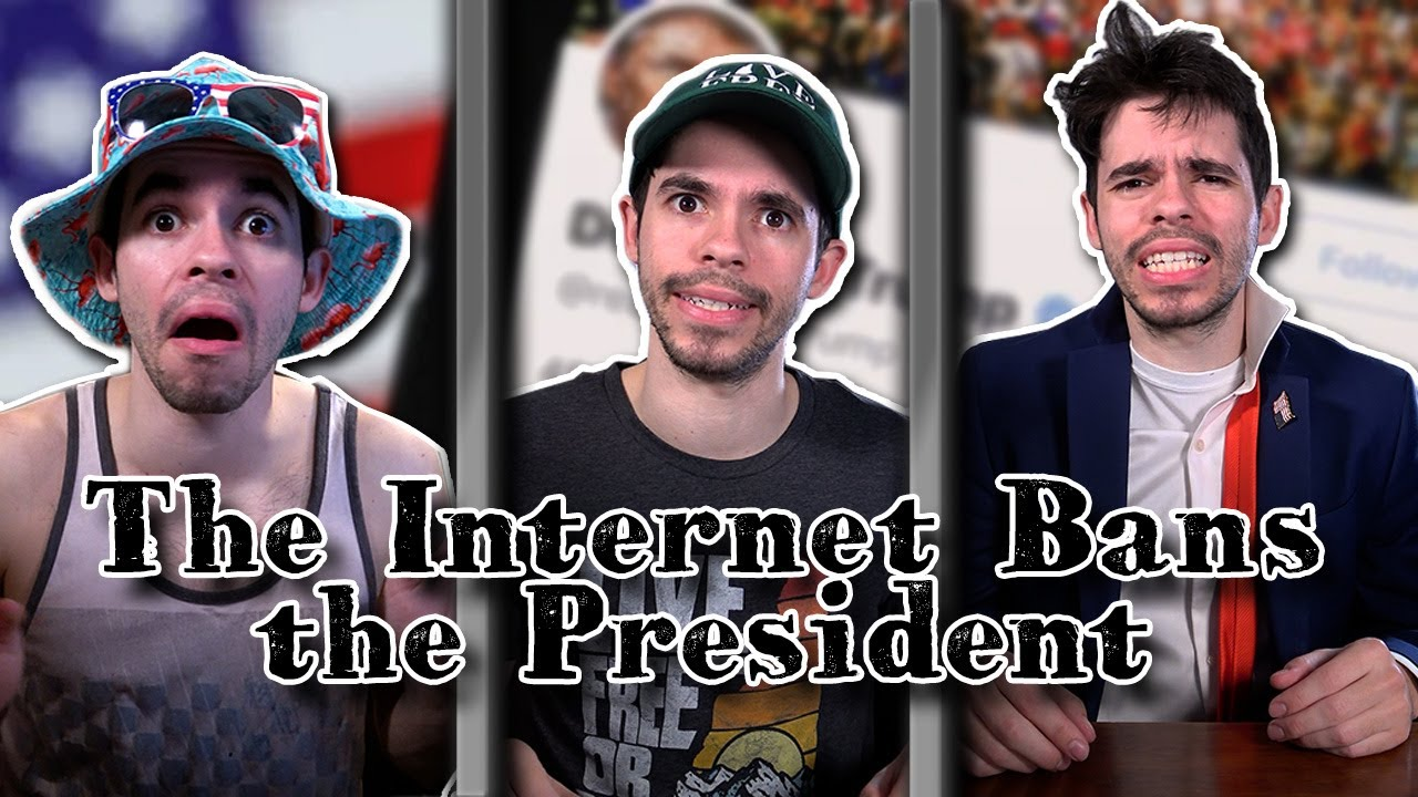 The Internet Bans the President - download from YouTube for free