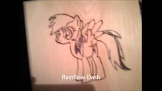 My Little Pony Wood Burning Projects