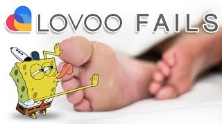 Schwitzige Frauenfüße hihi - Lovoo Fails #39