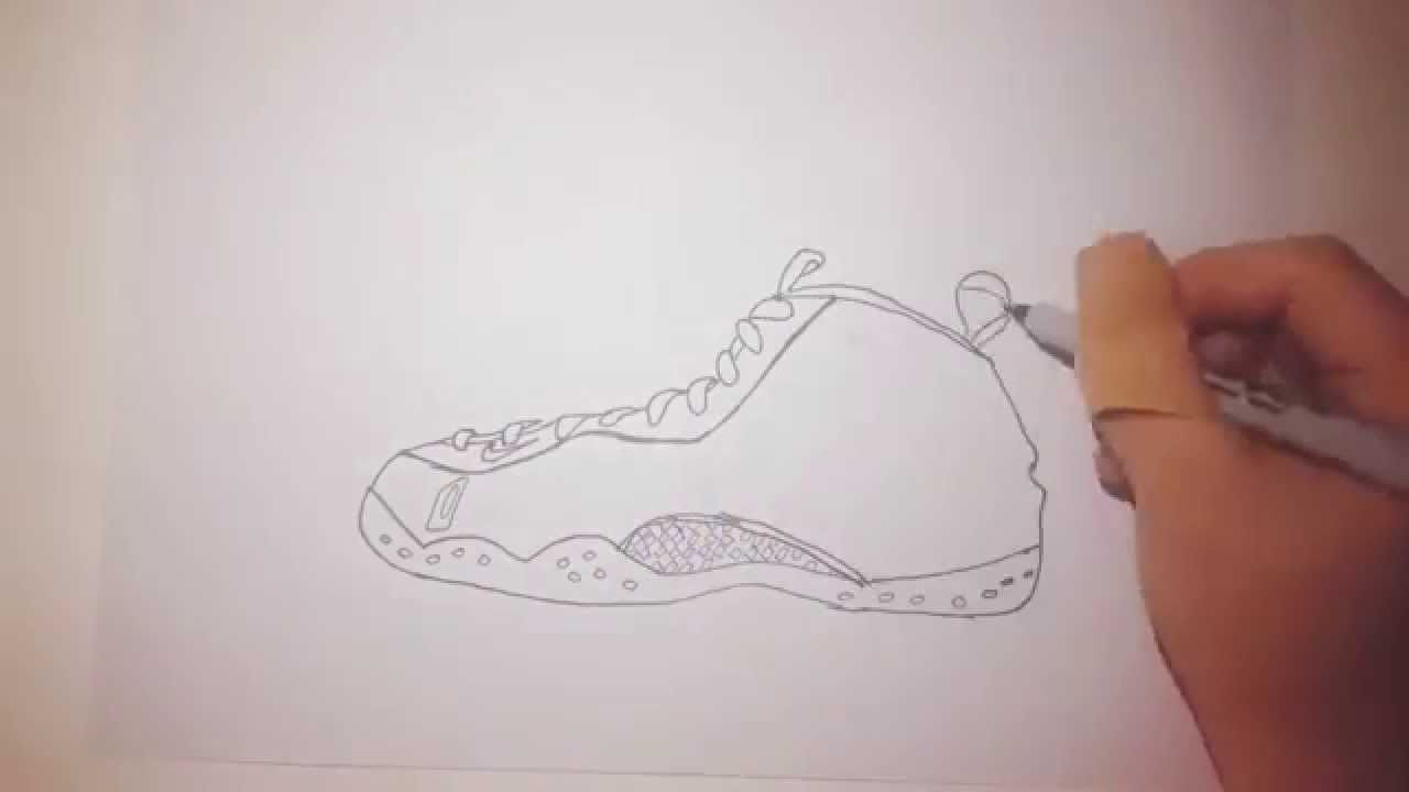 100% authentic a7f59 60a32 Drawing Foamposite Knicks!