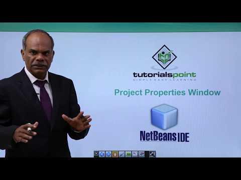 NetBeans - Project Properties Window