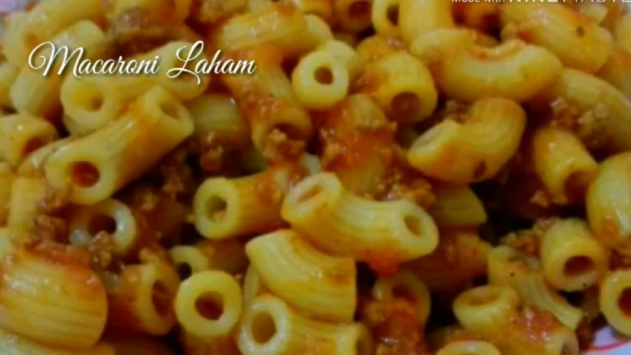 Download Macaroni Laham(meat)homestyle recipe