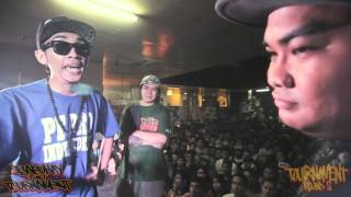 FlipTop - Andy G vs Sinio - Isabuhay Tournament