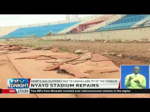Preparing Nyayo Stadium for politics and not for sports