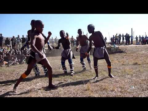 Indlondlo dancers - Drakensberg- South Africa