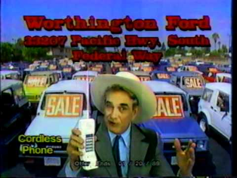 Cal Worthington Ford >> 1989 Cal Worthington Ford Federal Way Youtube
