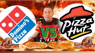 En iyi pizza Pizza Hut  vs Domino's pizza karşılaştırması aynı malzemeler ile