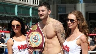 Welsh Pride Highlights of the Red Mist Open work out featuring Nathan Cleverly