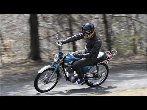【ホンダ ベンリイCB90 試乗】軽快な走りと豪華装備はさすが70年代の人気者…青木タカオ