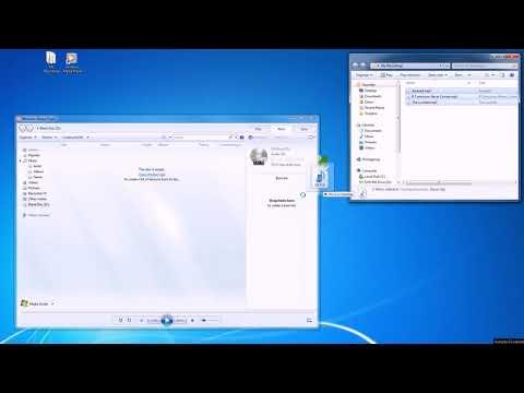 Burn Audio CD Disc Using Windows Media Player