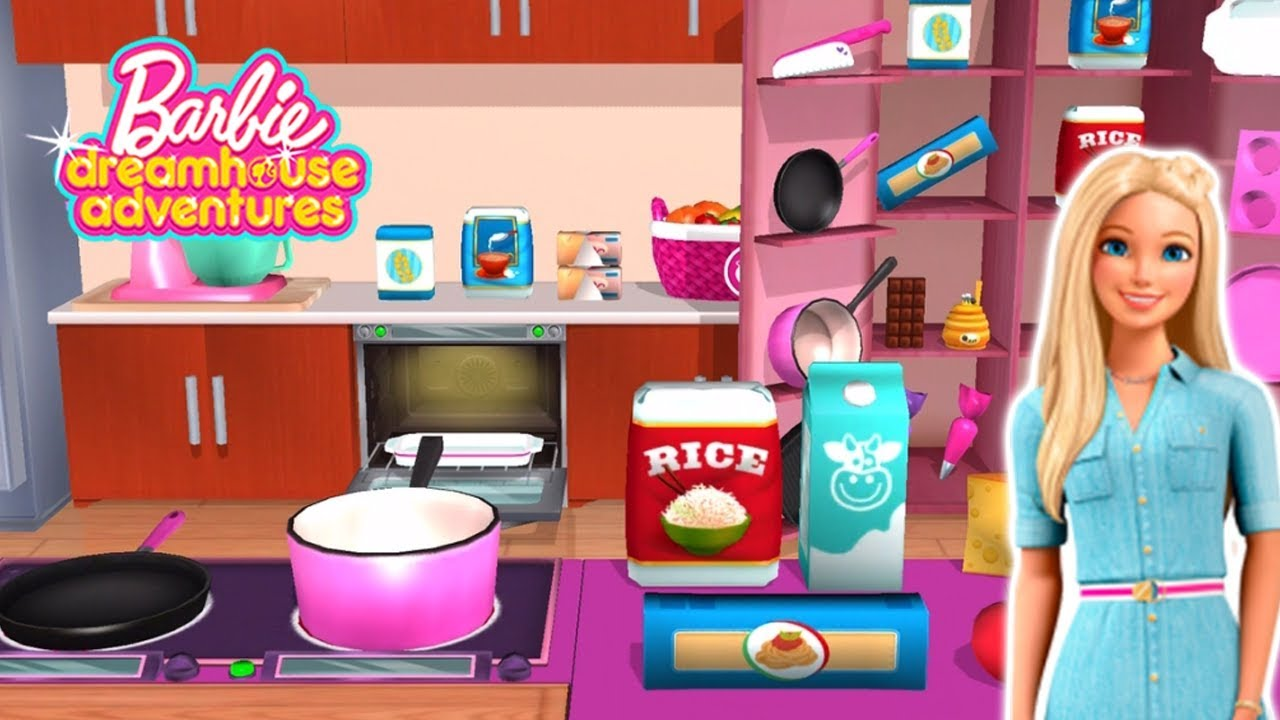 Download Barbie Dreamhouse Adventures - New Update Kitchen and Recipe