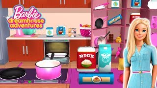 Barbie Dreamhouse Adventures - New Update Kitchen and Recipe