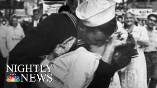 Navy Veteran Identified As 'Kissing Sailor' In WWII Photo Dies At 95 | NBC Nightly News