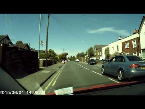 Bad Driving example 2: Through a red light!