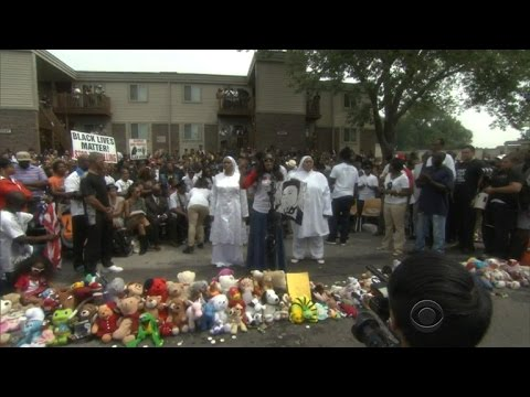 Michael Brown shooting anniversary remembered in Ferguson