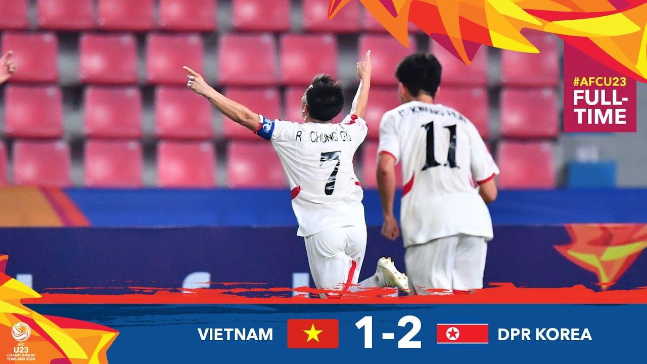 #AFCU23 M23 - VIETNAM 1 - 2 DPR KOREA : HIGHLIGHTS