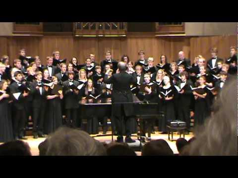 2009 Iowa State Singers - Bring Us, O Lord God